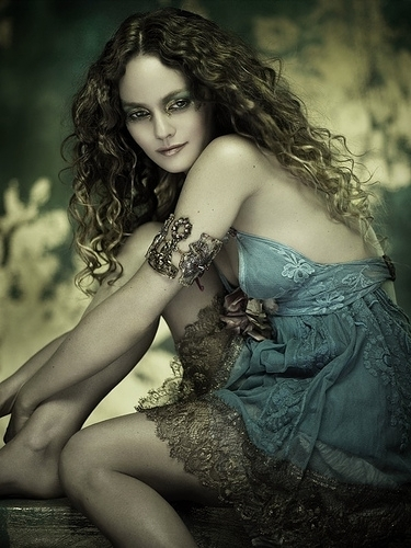 Fairies wallpaper probably containing skin called Vanessa Paradis as fairy