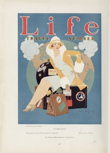 Vintage magazine covers