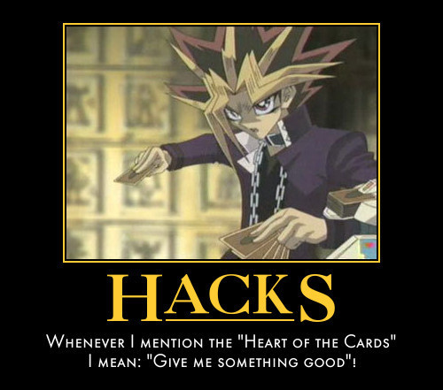 Yu-Gi-Oh! Demotivational Poster!
