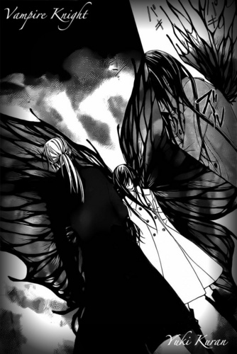 Vampire Knight karatasi la kupamba ukuta entitled Yuki Kuran wing