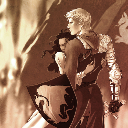 arthur and gwen beautiful artwork