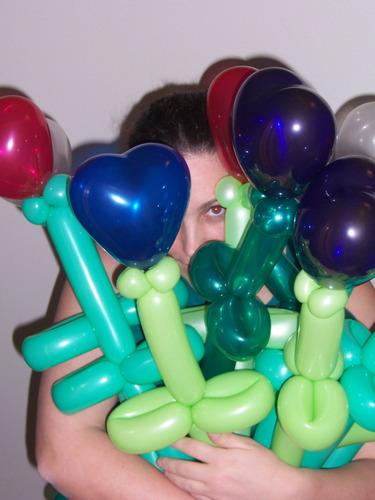 balloons O O O