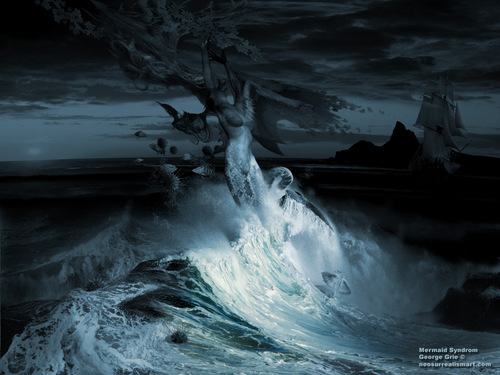 beaneath the seas . sirene