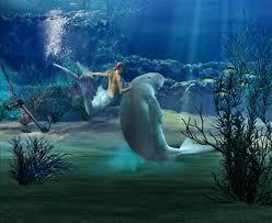 beaneath the seas . 인어