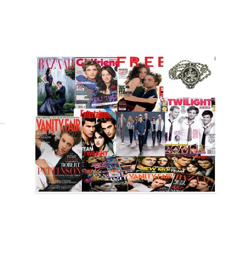 collage of twilight magazines