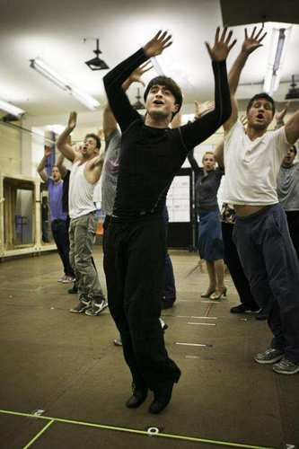 how to succeed- rehearsals