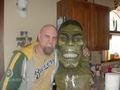 incredible hulk made from tree