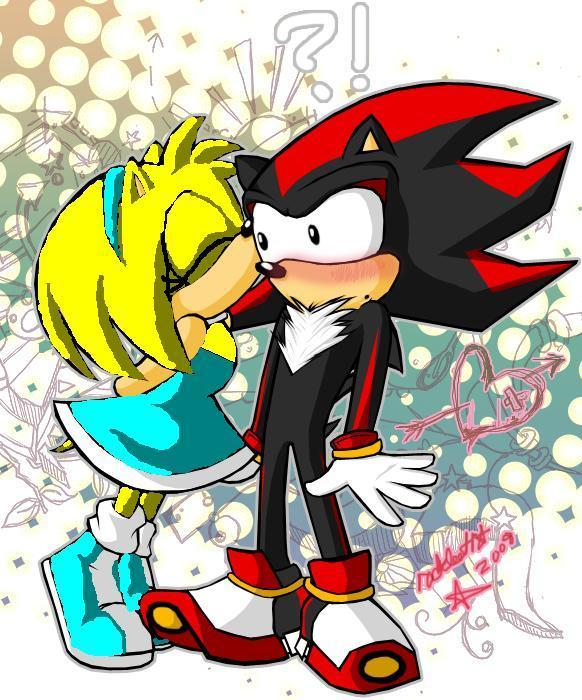 littel shadow's kiss - sonic girl recolors Photo (19665985 ...