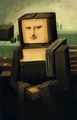 minecraft mona lisa - minecraft photo