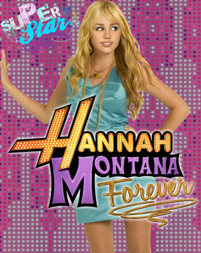 Hannah Montana wallpaper probably containing a hip boot and a portrait called poster hannah montana forever