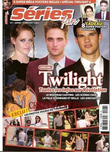 scans of french magazine Série FAN Kristen Stewart (interview) thx @CrazyStewFrance