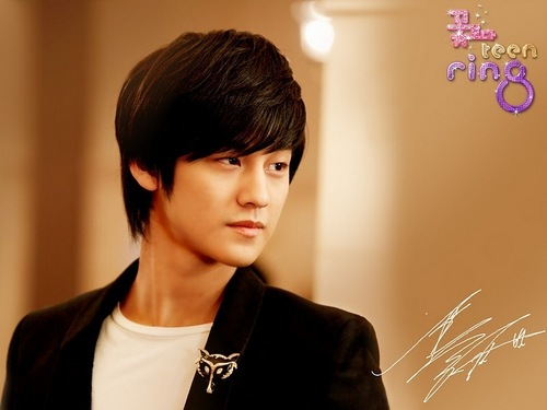 Ким Бом Обои probably containing a well dressed person, a business suit, and a portrait called ♥Kim Bum♥