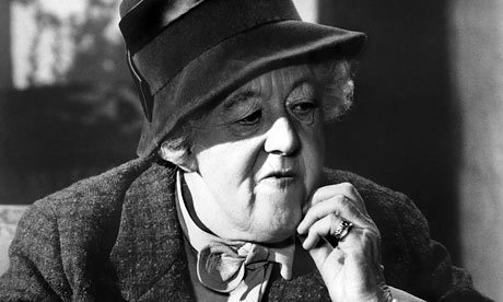"""Margaret Rutherford IS Miss Marple"""