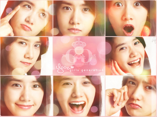Im yoonA fond d'écran possibly containing a portrait called ♥Yoona♥