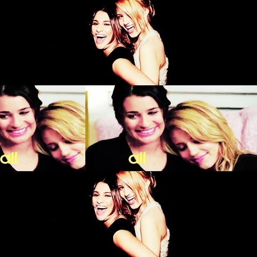 Lea Michele and Dianna Agron wallpaper possibly with a portrait titled ♥