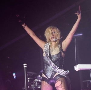 Ke$ha wallpaper with a leotard entitled 02.15 Portland, Oregon