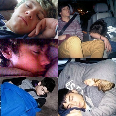 1D having there beauty sleep!!!xxxx :D