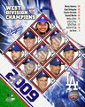 2009 NL West Champion Dodgers
