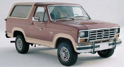 3rd generation Bronco (80-86)