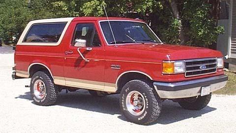 4th generation Bronco (87-91)
