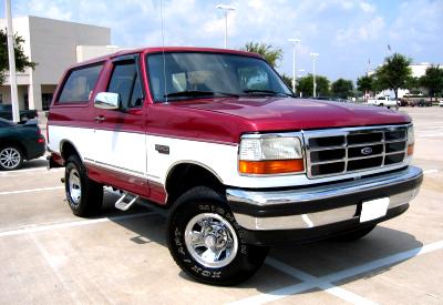 5th generation Bronco (92-96)