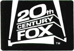 80s 20th Century cáo, fox Print Logo
