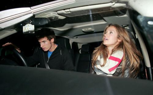 Andy and Kim at Nobu [Feb. 24]