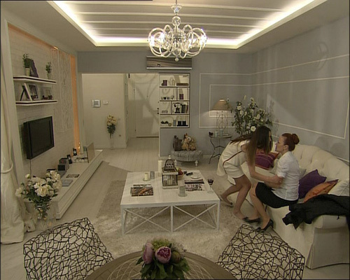 ASK-I MEMNU wallpaper with a living room, a breakfast area, and a family room entitled Ask-i Memnu