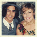 Avan With His Mom