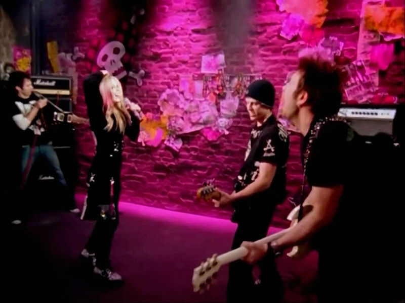 The Best Damn Thing Avril Lavigne Music Video