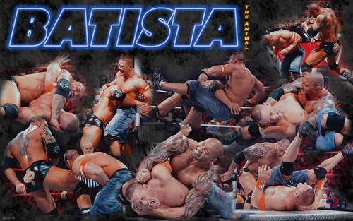 BATISTA - wwe Wallpaper