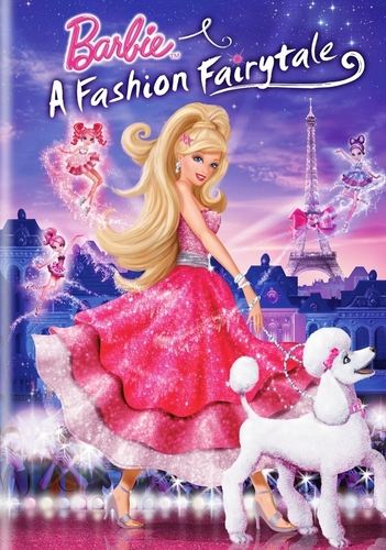 বার্বি A Fashion Fairytale - ANOTHER DVD cover