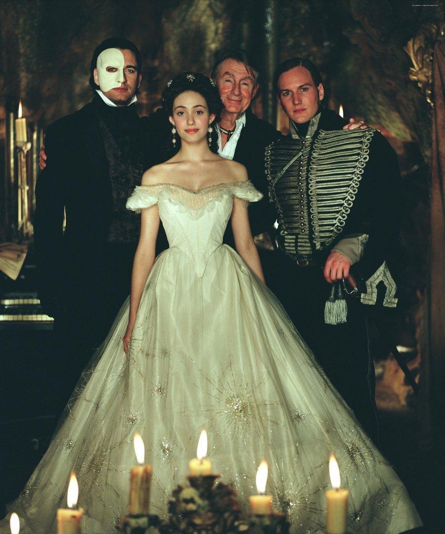 ALW's Phantom of the Opera movie images Behind The Scenes ... Patrick Wilson Phantom Of The Opera