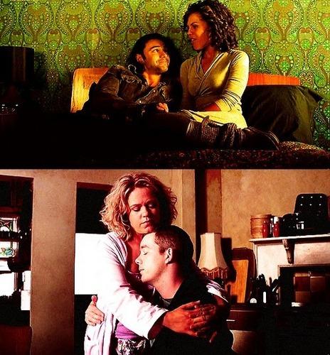 Being Human (Annie, Mitchell, George & Nina = True Love) VampGhostWolf 100% Real :) x
