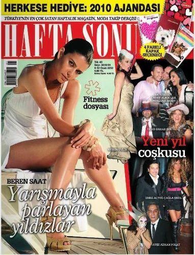 Beren Saat Magazine Cover