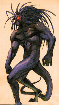 Blackheart, as shown in the comic sách