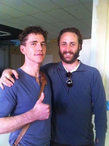 Brian Dietzen and Jesse Stern