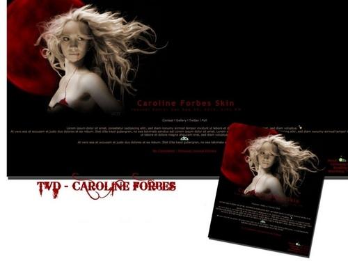 Caroline Forbes ღ