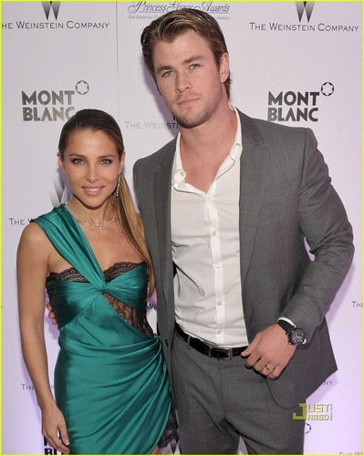 Chris Hemsworth: Soho House with Elsa Pataky!