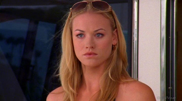 The gallery for --> Yvonne Strahovski Chuck Screencaps