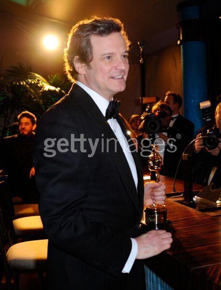 Colin Firth - Oscars 2011