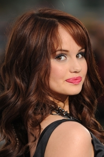 Debby at the 'Never Say Never' premiere