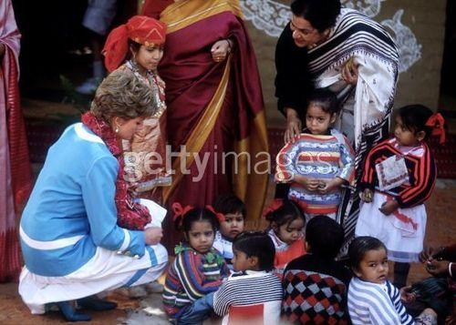 Diana In India