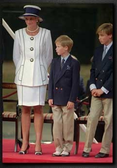 Diana and her boys - princess-diana Photo
