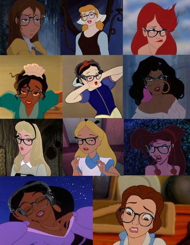 disney Leading Ladies - glasses