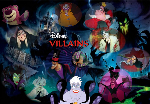 Disney Villains karatasi la kupamba ukuta probably containing anime titled Disney Villains 2011