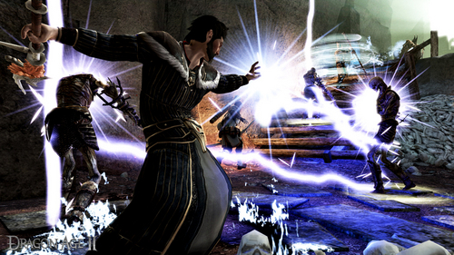 Dragon Age II- Mage Fighting
