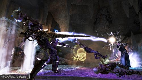 Dragon Age II- Mage Fighting