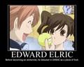 Edward Elric - OHSHC - anime fan art