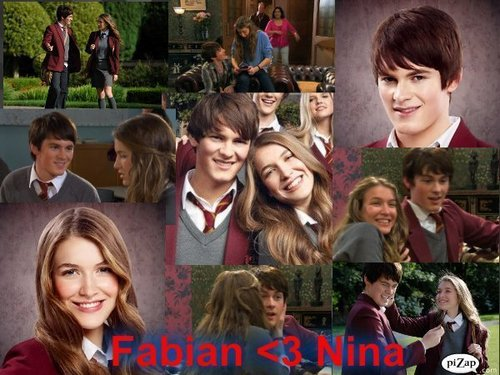 Fabian and nina=<3!